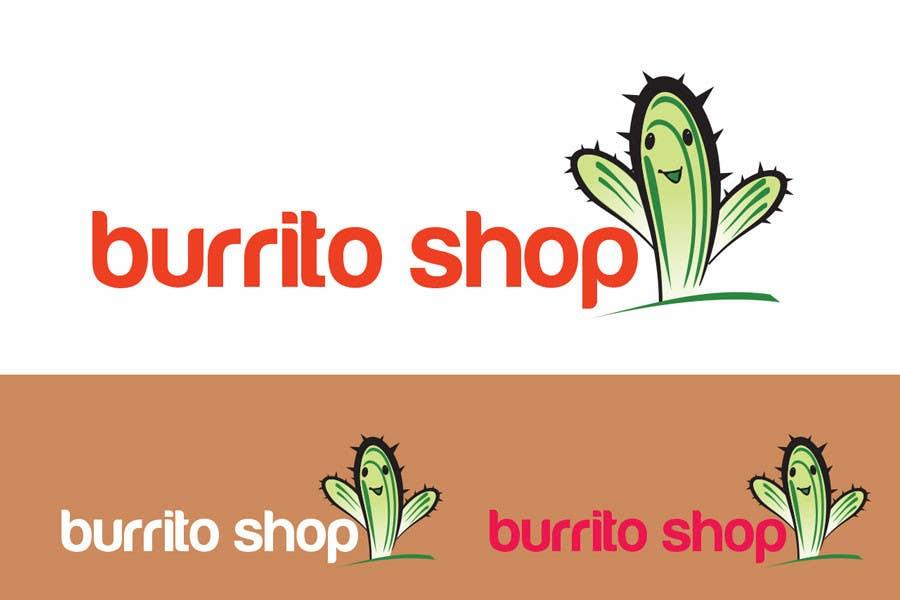 Proposition n°                                        91                                      du concours                                         Logo Design for burrito shop