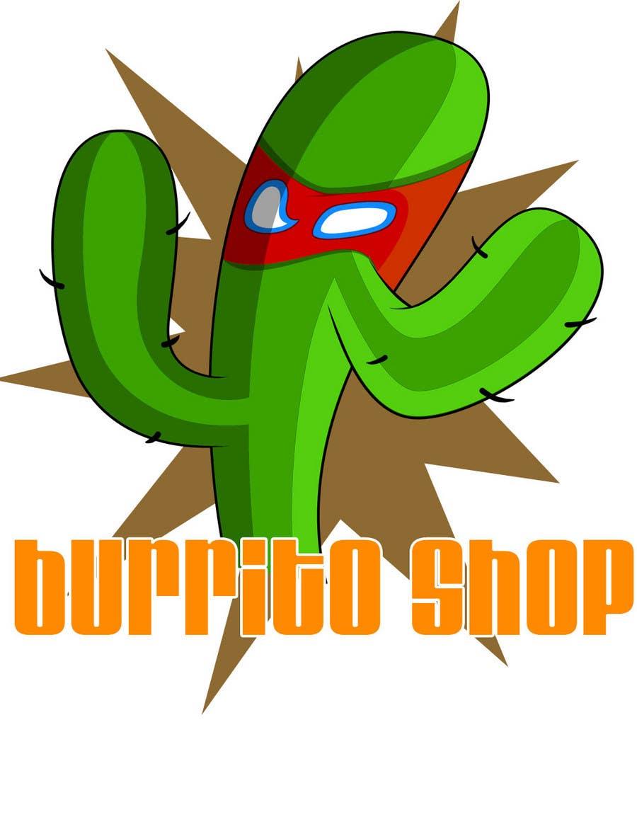 Proposition n°                                        66                                      du concours                                         Logo Design for burrito shop