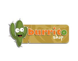 #85 para Logo Design for burrito shop de outlinedesign