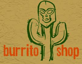nº 96 pour Logo Design for burrito shop par nathanshields