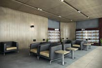 Graphic Design Contest Entry #24 for CGI Interior Design First Class Airline Lounge