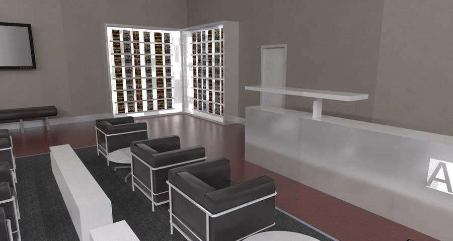 Contest Entry #19 for CGI Interior Design First Class Airline Lounge