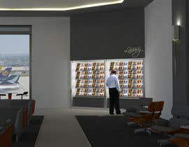 #22 para CGI Interior Design First Class Airline Lounge por techum