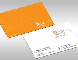 jobee tarafından Stationary (Letterhead, Business Card) for Pixomix için no 80