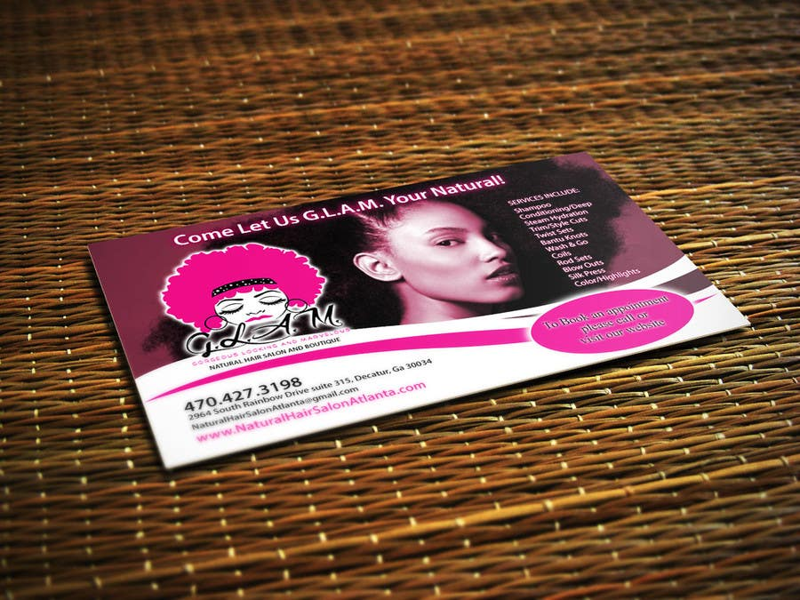 Entry 41 by adarshdk for design business card for hair boutique business card colourmoves