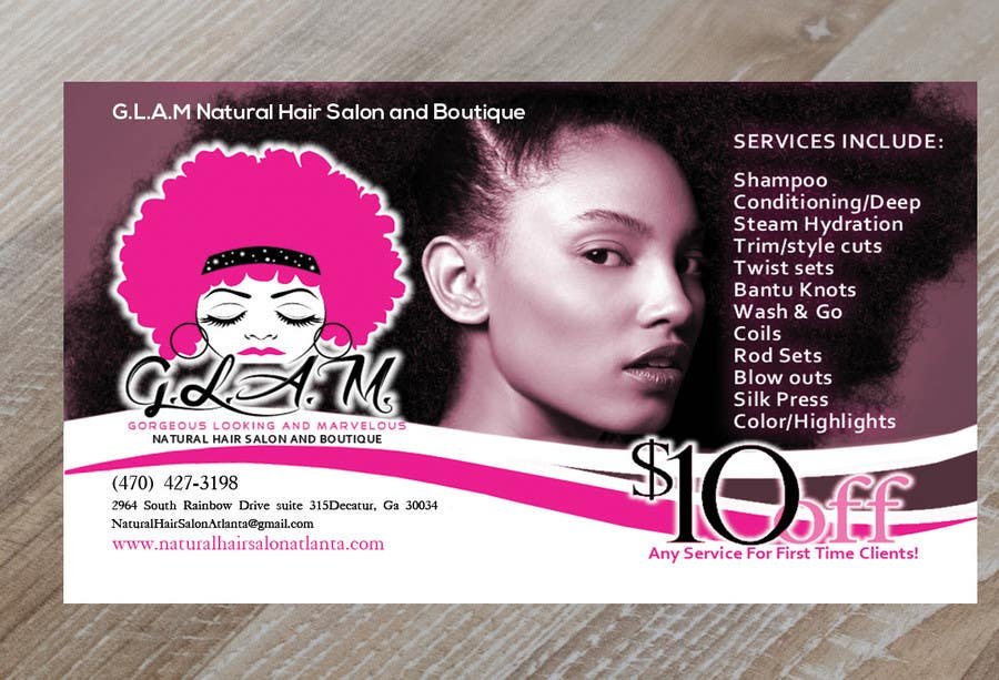 Entry 40 by lipiakhatun586 for design business card for hair contest entry 40 for design business card for hair boutique colourmoves