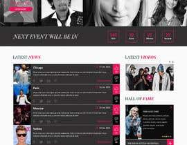 Nro 45 kilpailuun Design a Website Mockup käyttäjältä davidknoxx