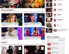 Nro 80 kilpailuun Design a Website Mockup käyttäjältä webmastersud