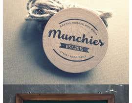 #50 untuk Munchies Restaurant Logo oleh GeorgeMiho