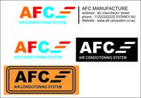 Graphic Design Konkurrenceindlæg #36 for Design a Logo for AFC Airconditioning Services