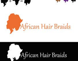 #39 for Design a Small Logo for www.AfricanHairBraids.com.au af acmstha55