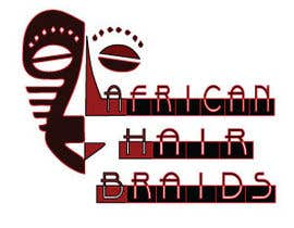#30 for Design a Small Logo for www.AfricanHairBraids.com.au af xtete