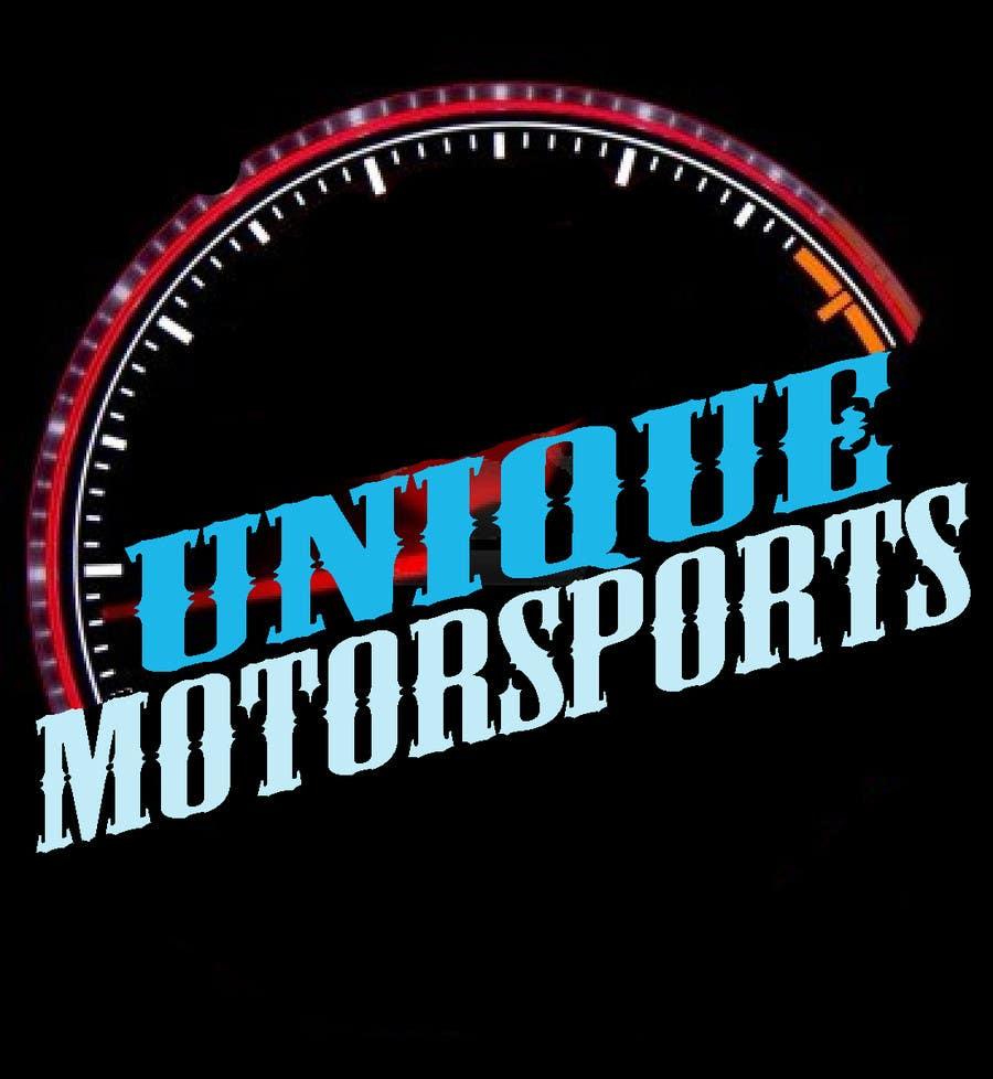 Penyertaan Peraduan #86 untuk Design a Logo for Unique Motorsports