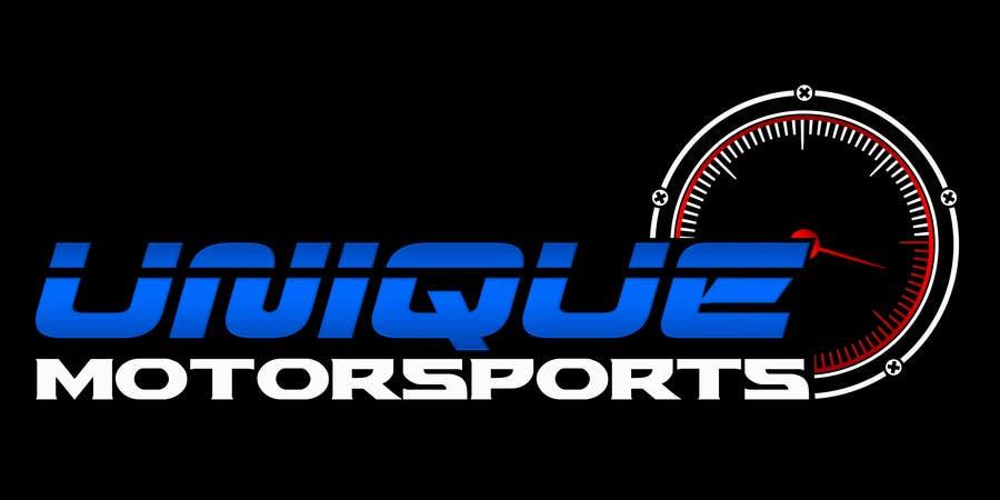 Penyertaan Peraduan #84 untuk Design a Logo for Unique Motorsports