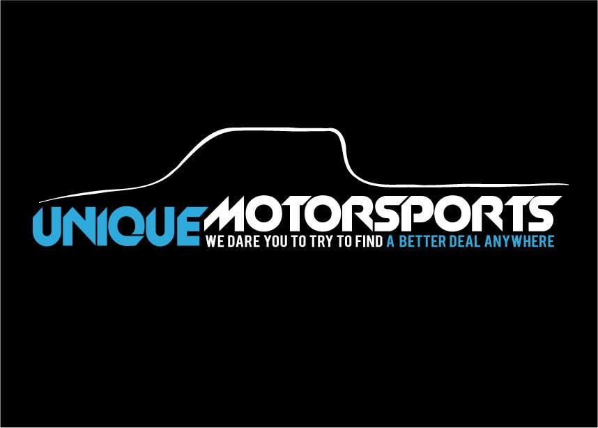 Penyertaan Peraduan #27 untuk Design a Logo for Unique Motorsports