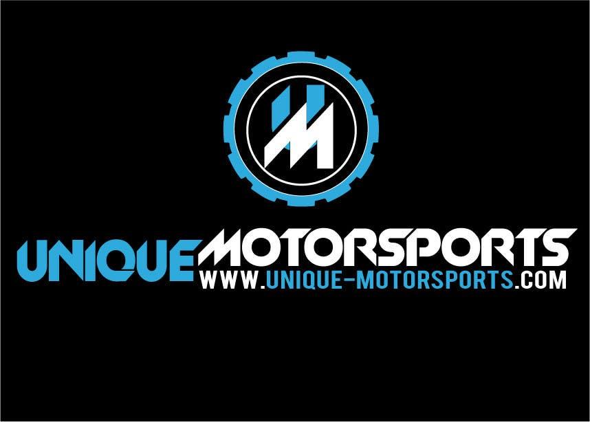 Penyertaan Peraduan #79 untuk Design a Logo for Unique Motorsports
