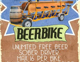 #2 for Design a Flyer for Beerbike af jeremybritz