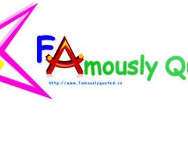 #18 para Design a Logo for Famously Quoted por nghiahuynh
