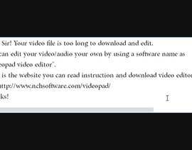 #1 untuk Tell me how to fix this video issue!! My captured content speeds up at some moments. oleh ArslanHaroon
