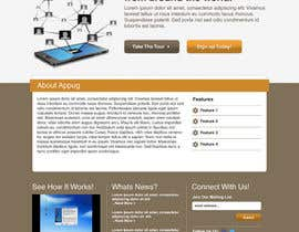 #31 for Website Design for Appug.com, a new online messaging service (generic web page). by wademd