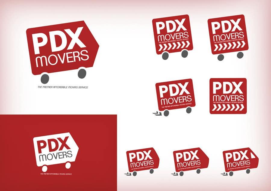 Bài tham dự cuộc thi #                                        74                                      cho                                         Design a Logo for pdxmovers.com