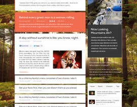 #6 for Design a Website Mockup for My Indie Music Blog by Soniyakumar