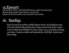 ronty tarafından Name my agency için no 34
