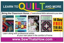 Graphic Design Inscrição do Concurso Nº102 para Graphic Design for SewThatsHow.com