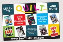 Graphic Design Inscrição do Concurso Nº114 para Graphic Design for SewThatsHow.com