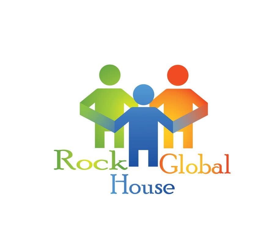 Konkurrenceindlæg #87 for Design a Logo for Rock House Global