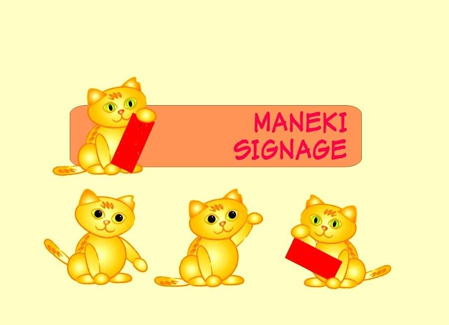 Bài tham dự cuộc thi #                                        9                                      cho                                         Enhance Current Cat Mascot