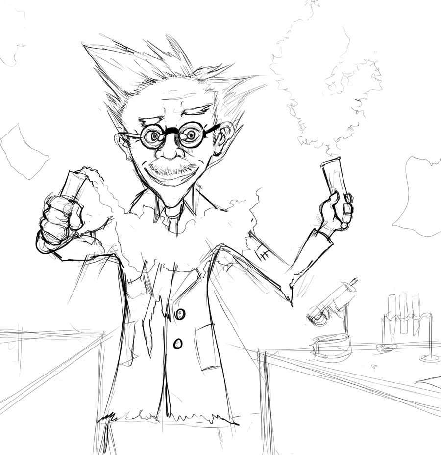 Kilpailutyö #5 kilpailussa Mad Scientist Illustration
