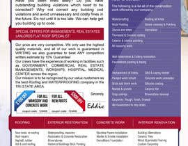 #14 para Design a Brochure (Introduction letter) for contractor por proxlservice