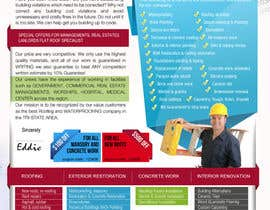 #16 para Design a Brochure (Introduction letter) for contractor por proxlservice