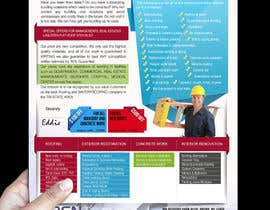 #18 para Design a Brochure (Introduction letter) for contractor por proxlservice