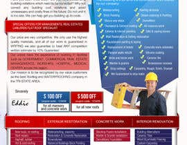 #22 para Design a Brochure (Introduction letter) for contractor por proxlservice