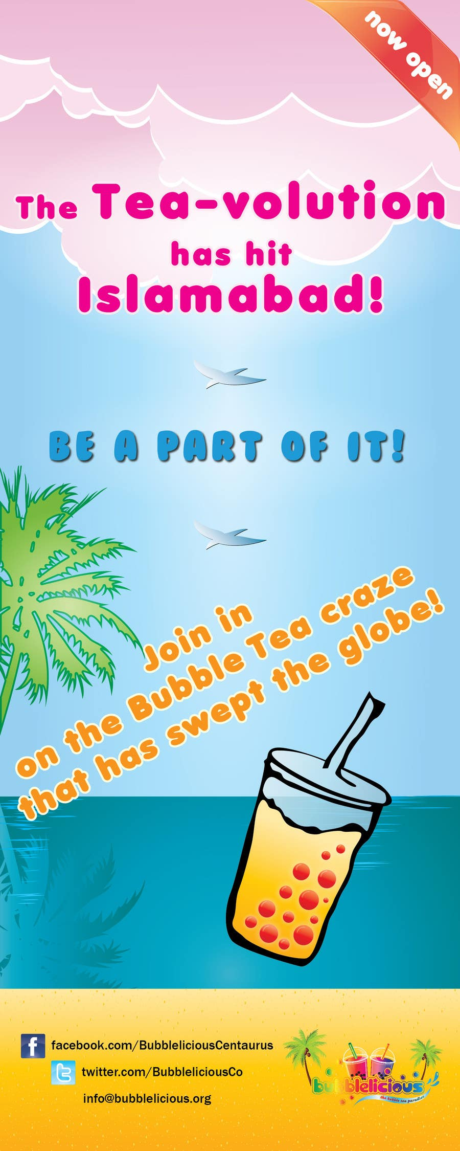 Proposition n°2 du concours I need some Graphic Designs for our Bubble Tea Company