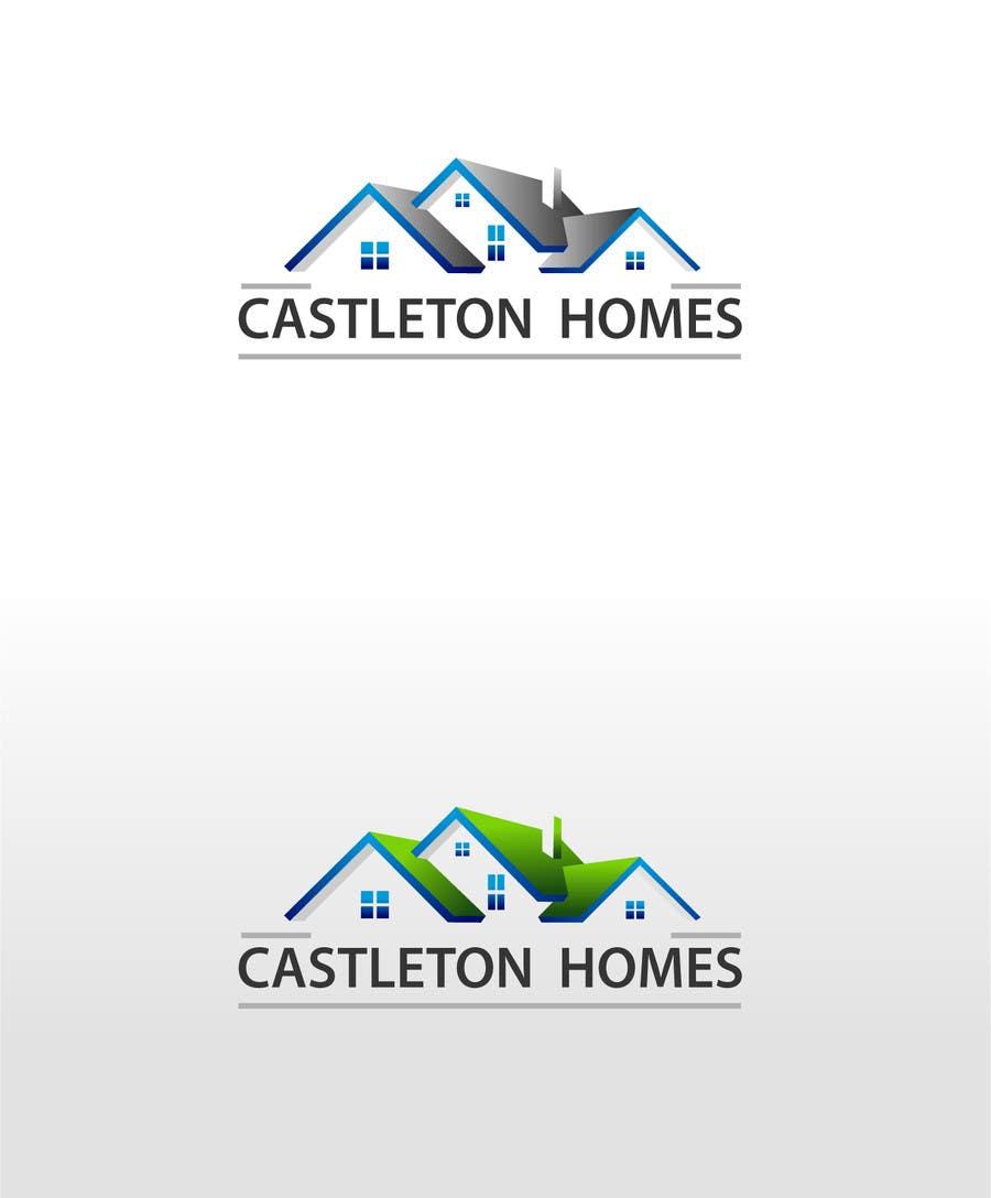 Kilpailutyö #130 kilpailussa Design a Logo for Castleton Homes
