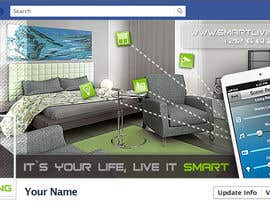 SueKocian tarafından Design a banner for facebook/Website for home automation company için no 24