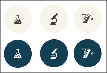 Inscrição nº 18 do Concurso para Design some Icons for Website