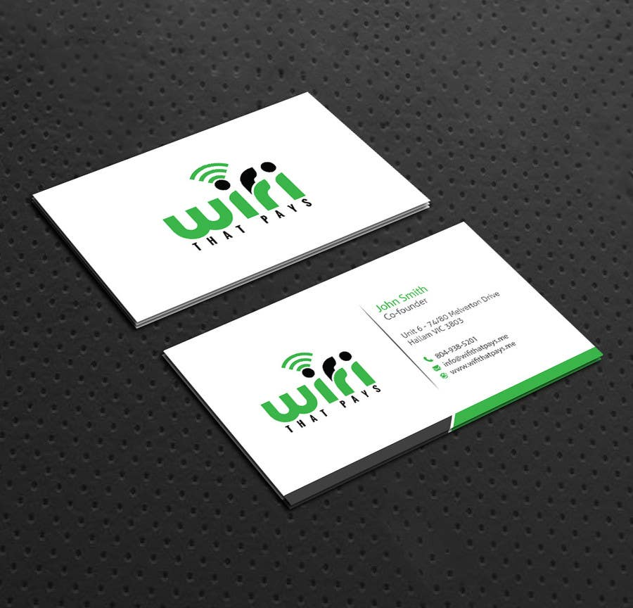 Entry #6 by dnoman20 for Design some Business Cards for a