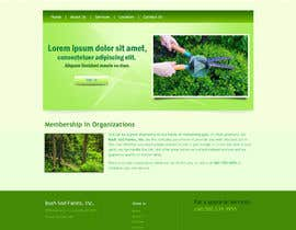 #4 for Need a Logo & Website PSD for Bush Sod Farms af aryamaity