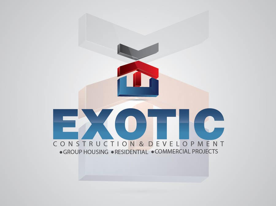"""#220 for Design a conceptual and intelligent Logo for the word """"EXOTIC"""" along with a punchline/ tagline (optional) by alinhd"""