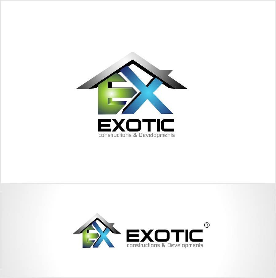 """#186 for Design a conceptual and intelligent Logo for the word """"EXOTIC"""" along with a punchline/ tagline (optional) by timedsgn"""