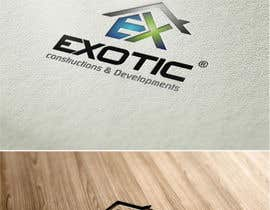 "Nro 279 kilpailuun Design a conceptual and intelligent Logo for the word ""EXOTIC"" along with a punchline/ tagline (optional) käyttäjältä timedsgn"