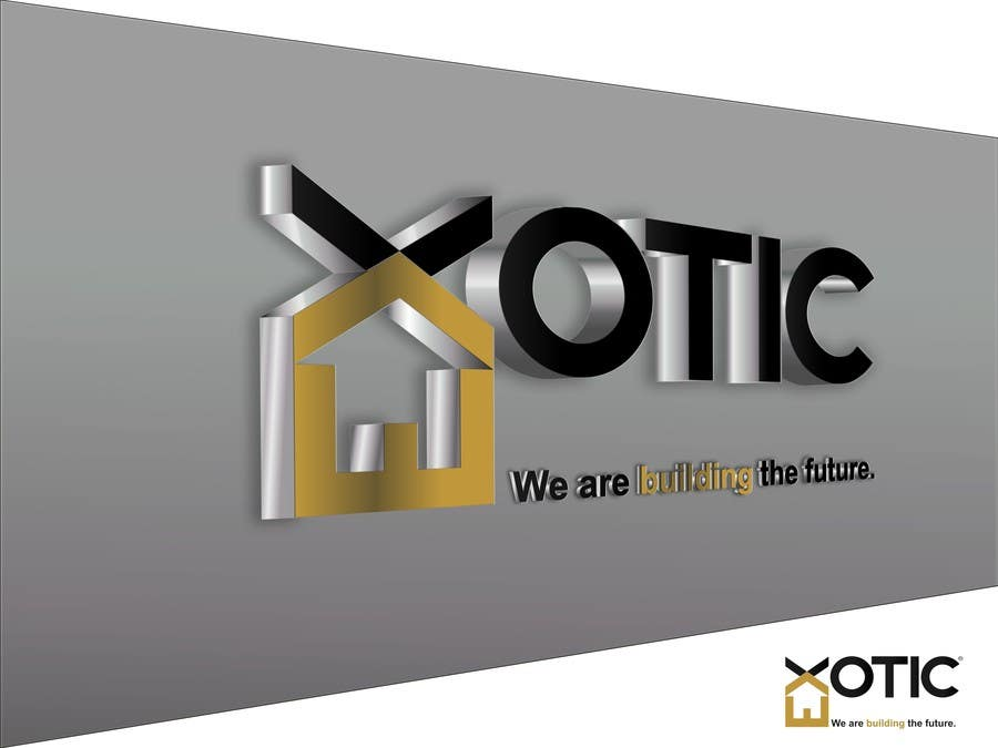 """#33 for Design a conceptual and intelligent Logo for the word """"EXOTIC"""" along with a punchline/ tagline (optional) by bexplorer"""