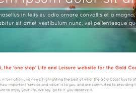 #22 for Website Mock Up - Wordpress by latheeshvmvilla