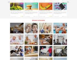 #5 for Website Mock Up - Wordpress by CharlesNgu