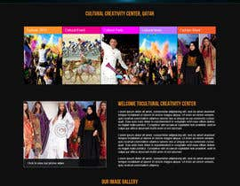 #26 cho Website Design for Cultural Creativity Center bởi helixnebula2010