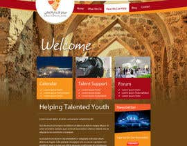 #12 cho Website Design for Cultural Creativity Center bởi grafixeu